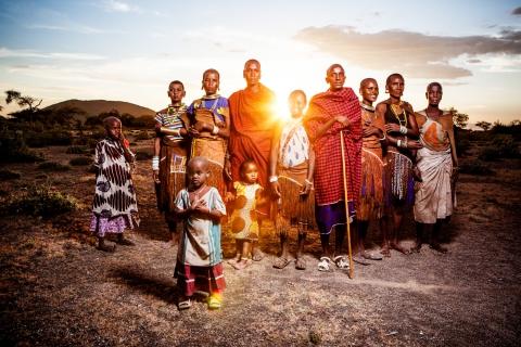 reportagefotografie hadza tansania