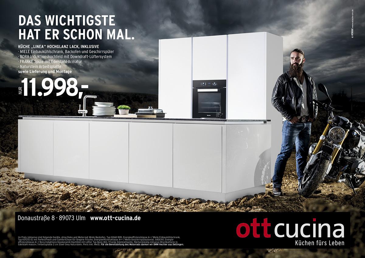 ott cucina, attacke werbeagentur, rampant pictures